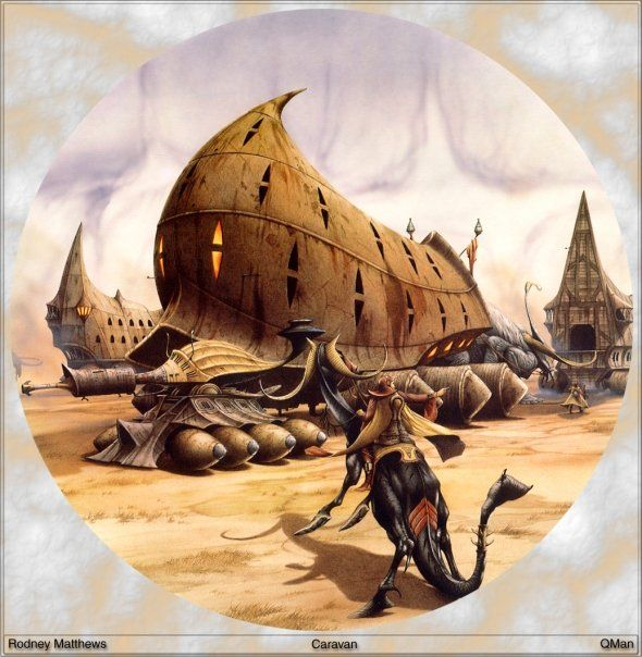 Fantasy Ink Science Fiction Sunday: 170 Best Images About The Art Of Rodney Matthews On
