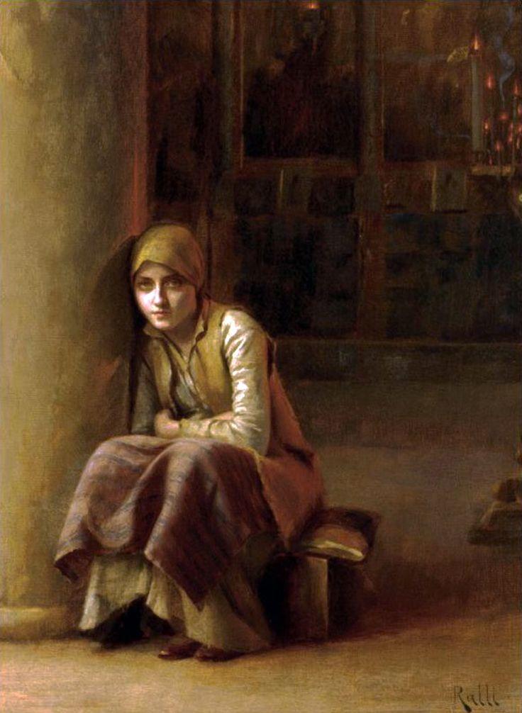 A Pensive Moment (Theodoros Ralli - )
