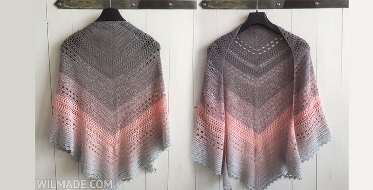 Bella Vita Shawl crochet kopie