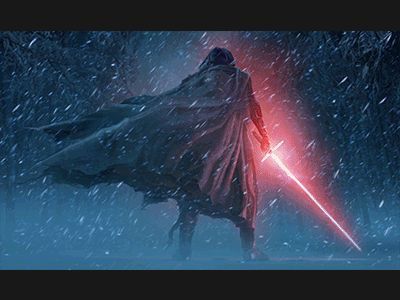 The Force Awakens. Done with Adobe AE. Original concept art by Doug Chiang.