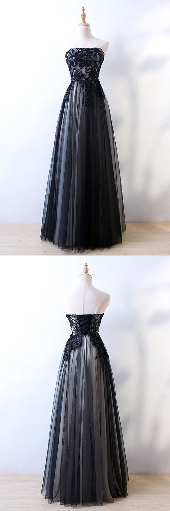 Only $118, Strapless Sheath Long Black Prom Formal Dress With Corset Back #MYX18220 at #SheProm. SheProm is an online store with thousands of dresses, range from Prom,Formal,Evening,Black,Long Black Dresses,Long Dresses and so on. Not only selling formal dresses, more and more trendy dress styles will be updated daily to our store. With low price and high quality guaranteed, you will definitely like shopping from us. Shop now to get $10 off!