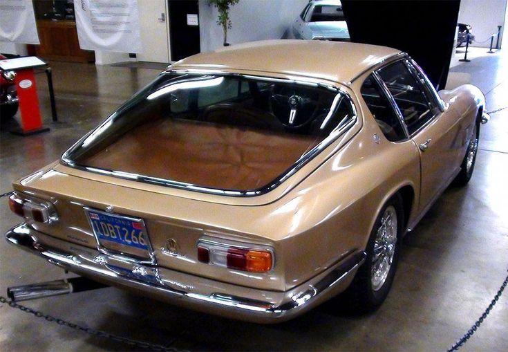 Maserati Mistral hinten #JaguarClassicCars   – cars bikes and trains
