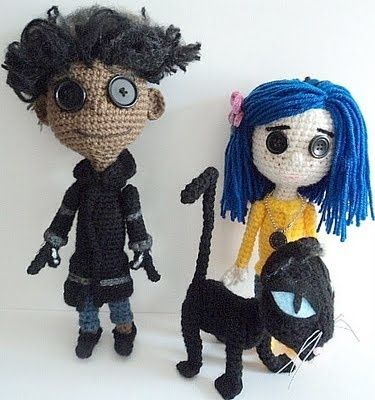 Coraline Doll Free Crochet Pattern Amigurumi To Go : 1000+ images about Coraline !! on Pinterest Movies ...