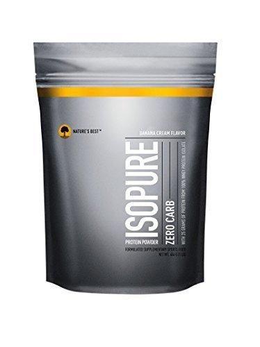 Isopure Zero Carb Protein Powder Banana Cream 1 Pound (Packaging May Vary)