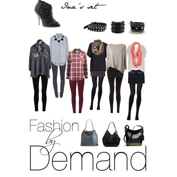 """Fashion by Demand"" by andreea-sfarlea on Polyvore"