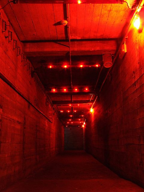 Tresor by Tresor Berlin- tunnel to the dungeon. This fully captures the feeling of the underground.