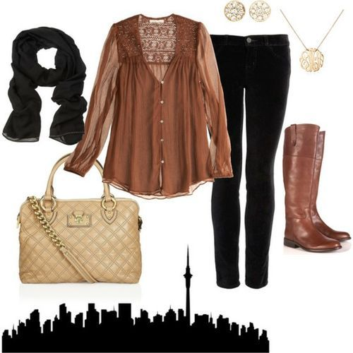 yesNice Outfit, Black Skinny, Style Boards, Clothing Style, Shirts, Brown Black, Black Brown, Fashion Obsession, Dreams Closets