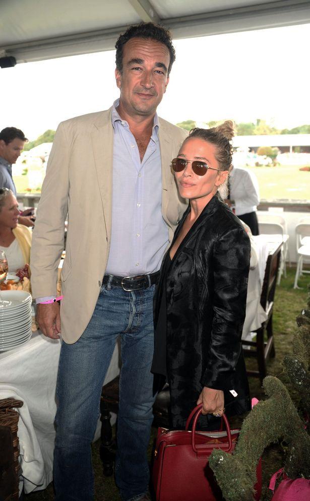 ... Mary-Kate Olsen and fiancé Olivier Sarkozy