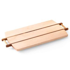 Looking for a satisfying woodworking project? Make this beautiful maple and walnut cutting board/serving tray. Simple enough that you can start in the morning, then finish it in the afternoon.