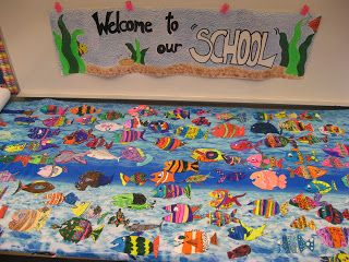 """Jamestown Elementary Art Blog: Welcome to our """"SCHOOL!"""""""