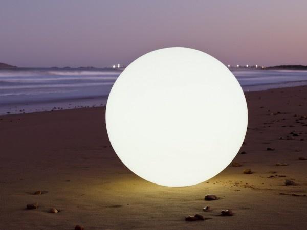 Waterproof, wireless, rechargeable, energy efficient lantern, Big Globe by Space Lighting