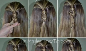 Bubble Fishtail Braid Tutorial