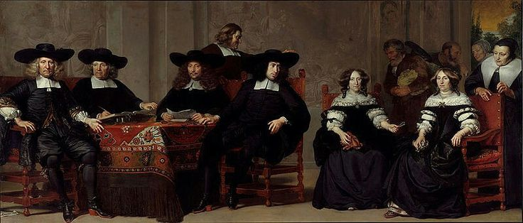 Adriaen Backer  (1635/1636–1684) De regenten en regentessen van het Oude Mannen- en Vrouwengasthuis-Governors and Governesses of the Oudemannen- en Vrouwengasthuis Description  schilderij; heraldiek; heraldiek; heraldiek; heraldiek; heraldiek; heraldiek; Oude Mannen- en Vrouwengasthuis; Gommaerts, Antoni; Meer, Jeremias van der; Nijs, Isaac Jan; Pauw, Wilhelm; Reael, Alida; Wybrands, Helena; portret; portret Amsterdam  Date1676; 1676Mediumdoek; olieverf