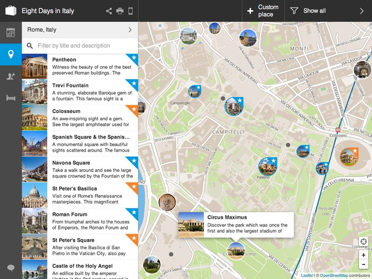 You can now easily view activities on the map and also as a list.