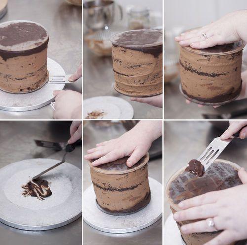 The TORTA method for ganaching a cake - CakesDecor