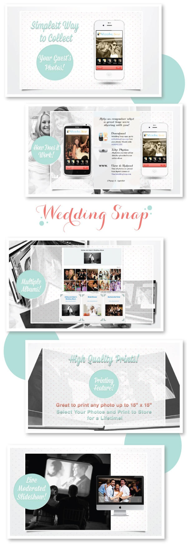 a great app that allows all of your guests to upload images from your big day into a WeddingSnap live album. http://www.WeddingSnap.com/ Plus Wedding Snap's Christian Louboutin giveaway! See it here:http://www.stylemepretty.com/2012/09/18/photo-sharing-with-wedding-snap-a-giveaway/