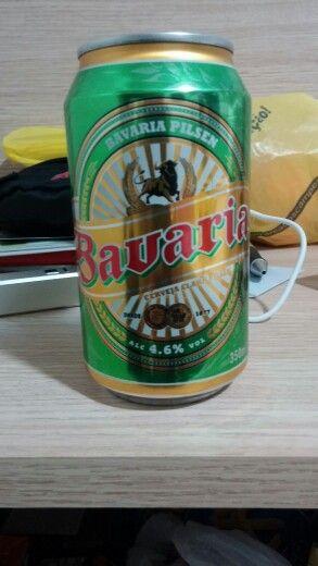 Cerveja Bavaria (cara a)