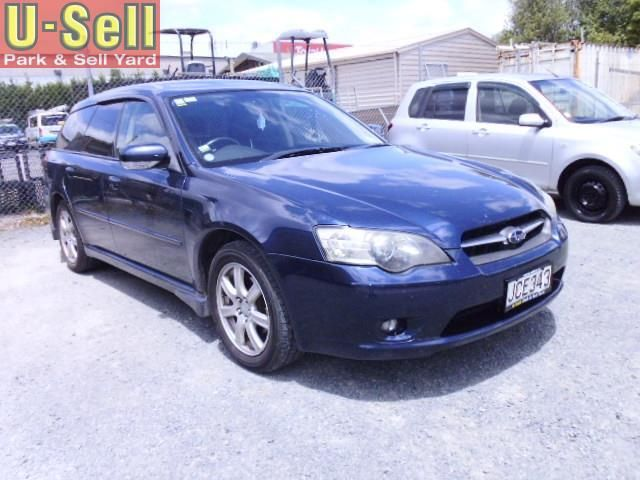 2004 Subaru Legacy for sale | $6750 | U-Sell | Park & Sell Yard | Used Cars | 797 Te Rapa Rd, Hamilton, New Zealand