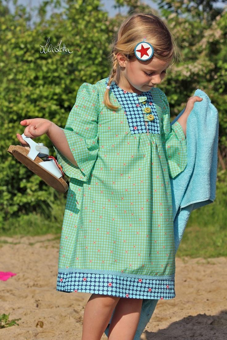 176 besten a_Nähen - Mädchenkleider Bilder auf Pinterest ...