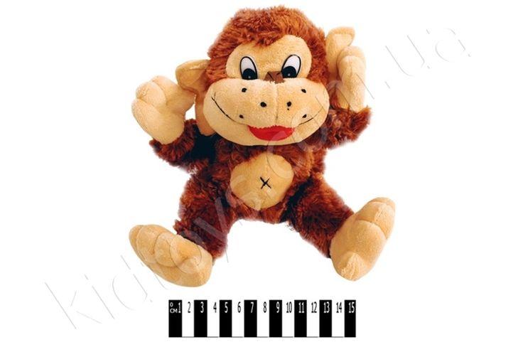 Мавпочка муз. F-F30321см, коляски для кукол, дышащие игрушки, детских игрушек, купить настольные игры киев, магазин игрушек украина, мягкие игрушки кот