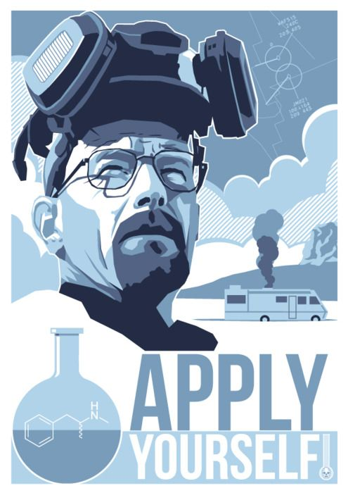 Apply yourself and you too can create the worlds best meth!