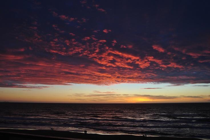 Sabaudia's sunset...