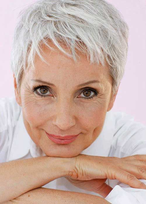 20  Short Haircuts Women Over 50 | http://www.short-hairstyles.co/20-short-haircuts-women-over-50.html