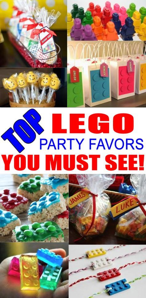 BEST Lego Party Favors Amazing Favor Ideas You Must See Find