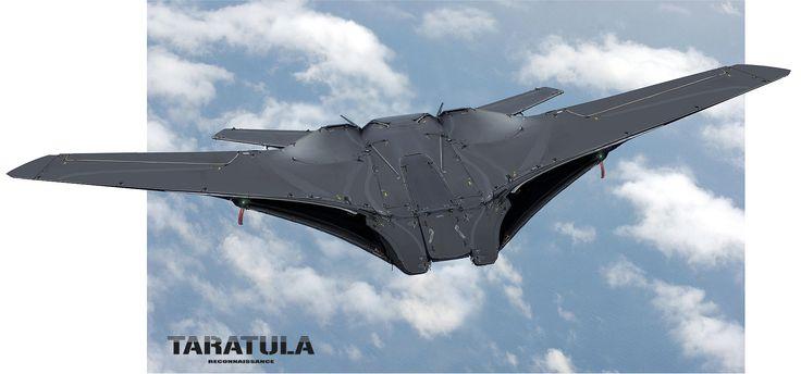 ArtStation - PHOTOBASHING PRACTICE - TARATULA drone (concept 06), Nenad Gojkovic