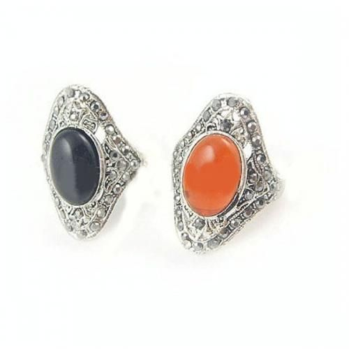 Black Opal Decor Stylish Ring