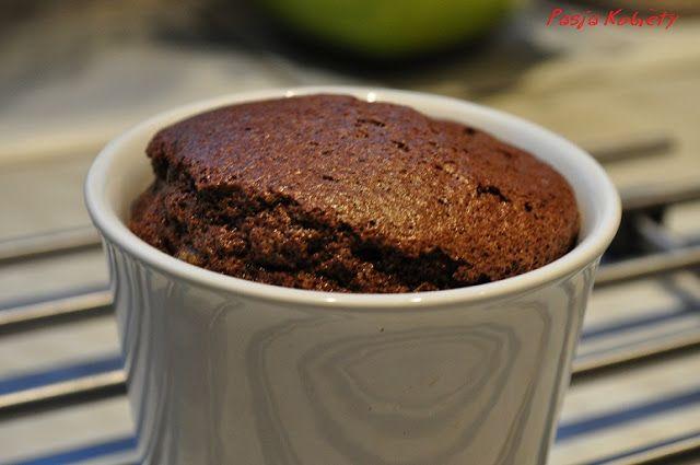 Prosty 3-składnikowy suflet czekoladowy