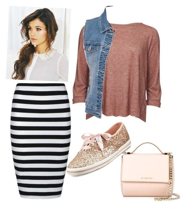 """Me"" by ohraee019 on Polyvore featuring Ally Fashion, Levi's Made & Crafted, maurices, Kate Spade and Givenchy"