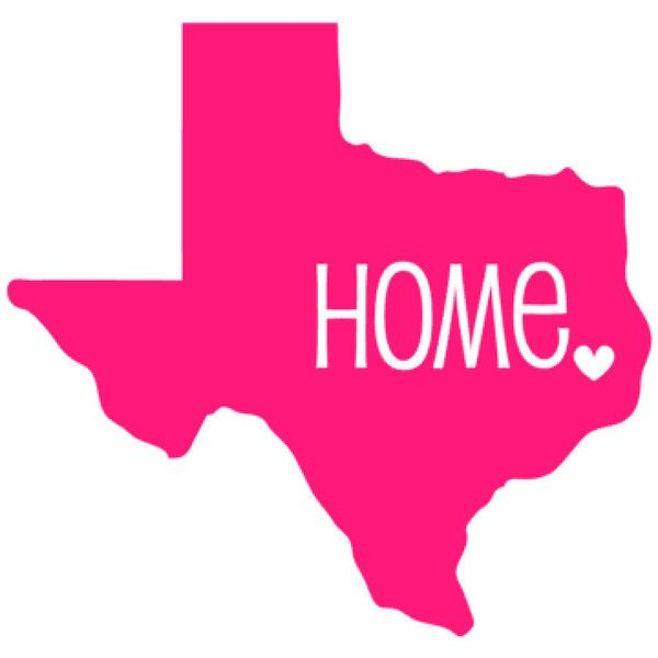 Texas Car Decal, North Carolina Car Decal, Texas Sticker, Texas Home... ($2.50) ❤ liked on Polyvore featuring home, home decor, car home decor and car interior decor
