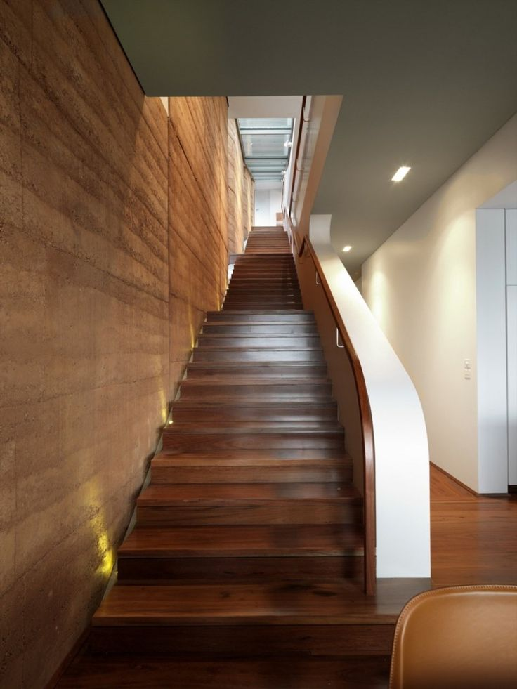 Staircase Elamang Avenue House by Luigi Rosselli