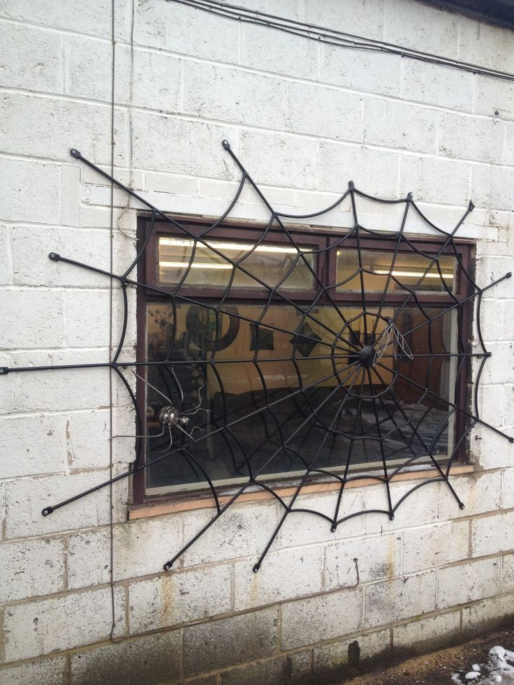 """You can get these custom made security grills from """"Art of Metal"""" in the UK."""