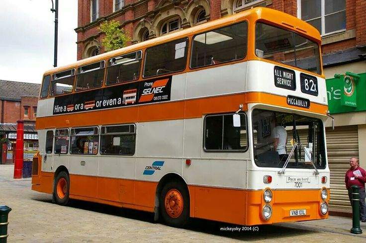 82 to Manchester, (Picadilly)