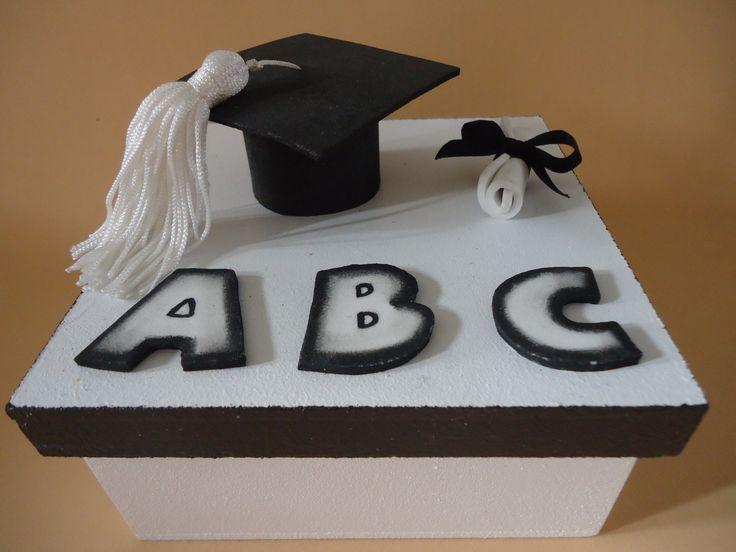 Caixa MDF Formatura do ABC.
