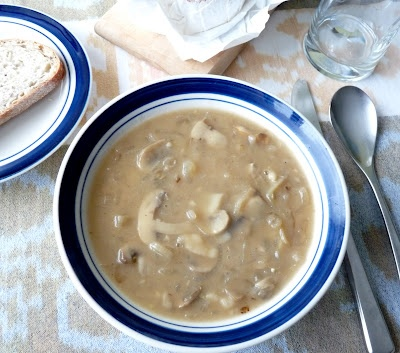Sherried Mushroom & Shallot Soup {Via Seasonal Ontario Food}
