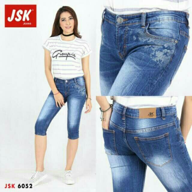Saya menjual Celana jeans pendek 7/8 6052 Celana pendek jeans jsk seharga Rp115.000. Dapatkan produk ini hanya di Shopee! https://shopee.co.id/jolincollections/192151151 #ShopeeID