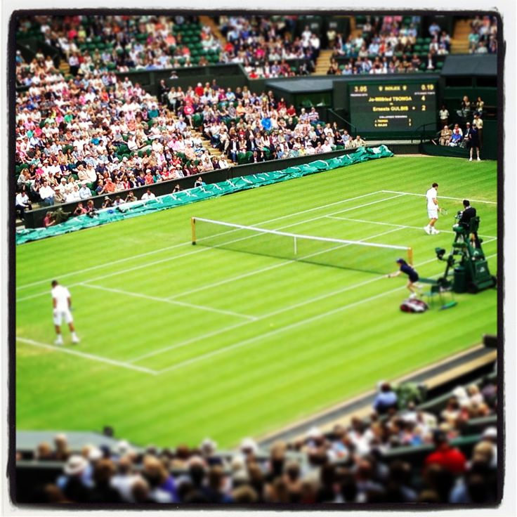 Centre court #federer #defeat