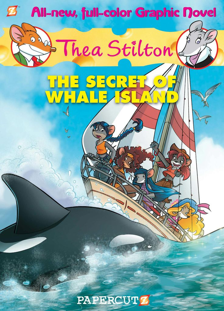 Thea Stilton Vol.1 - The Secret of Whale Island (2013)