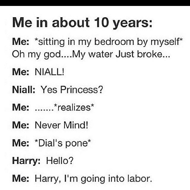 hahahahahaha. Omg yes. Harry would flip, Niall would be like... oop. whateves.