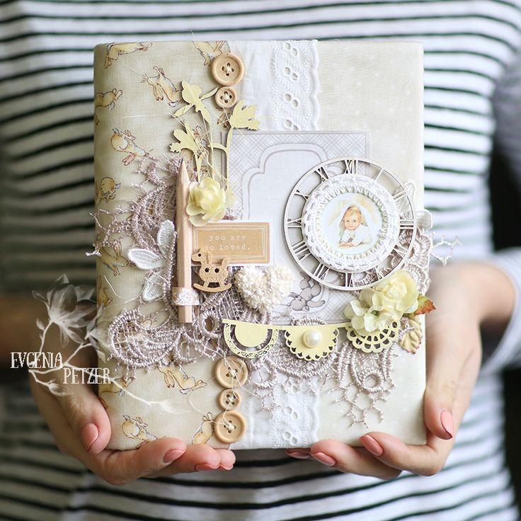 ScrapTherapy by Evgenia Petzer: И снова много работ и любовь к блокнотикам:)