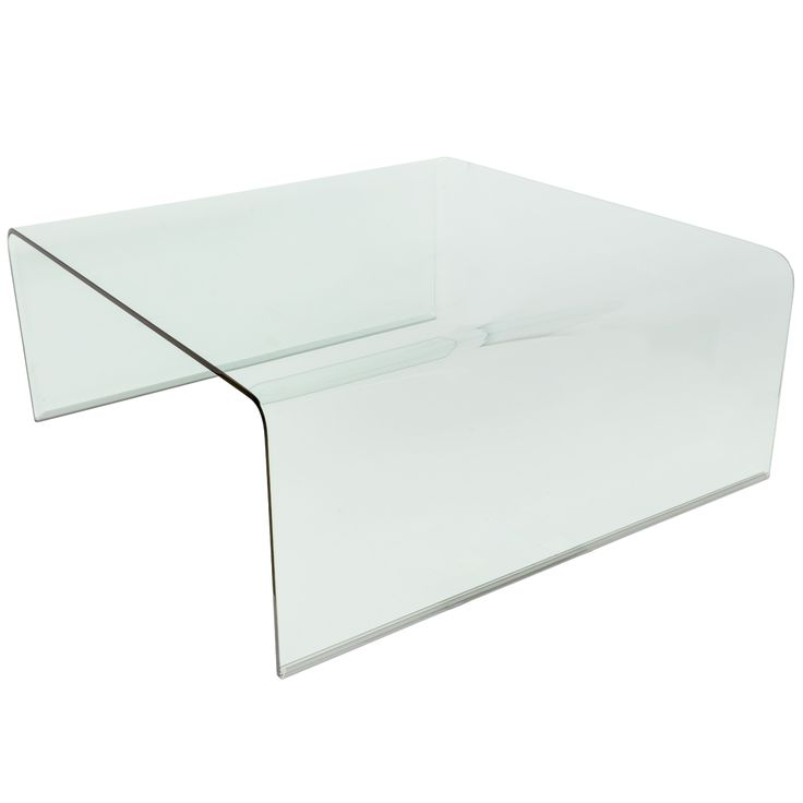 Minimalist  Waterfall 1970's Floating Italian Glass Cofee Table | From a unique collection of antique and modern coffee and cocktail tables at http://www.1stdibs.com/furniture/tables/coffee-tables-cocktail-tables/