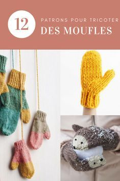 cd085a63b060 12 patrons pour tricoter une paire de moufles - tuto tricot - Marie Claire  Idées