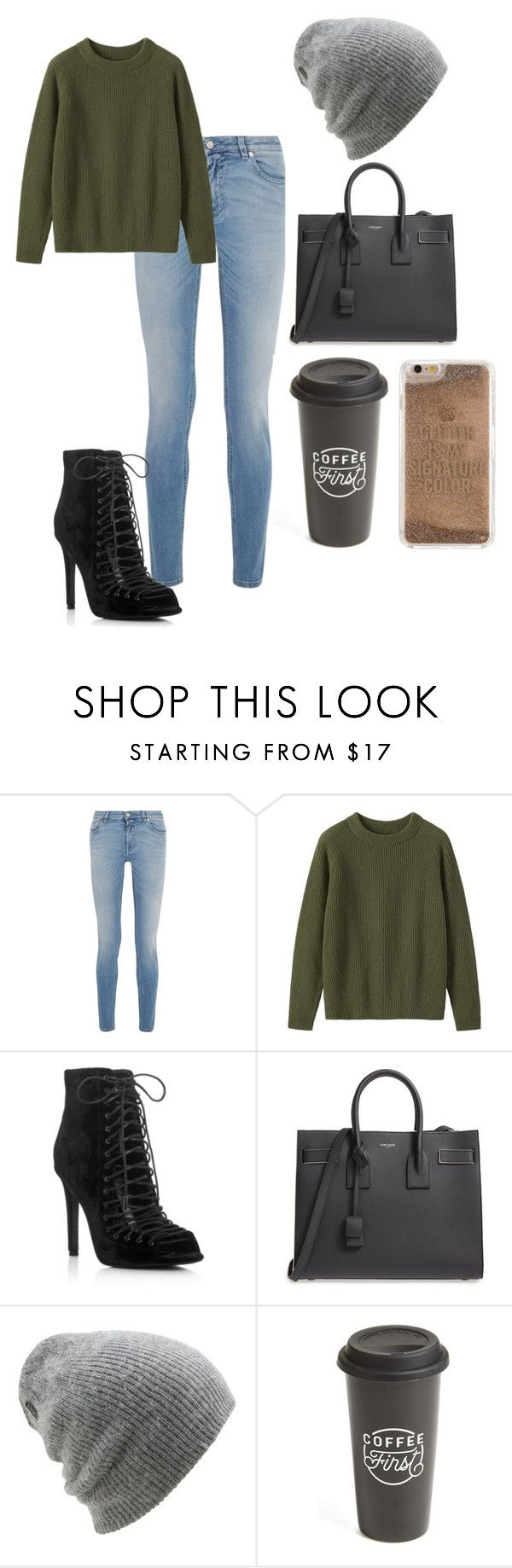 """Coffee"" by summer-vernon on Polyvore featuring Givenchy, Toast, Kendall + Kylie, Yves Saint Laurent, Coal, The Created Co. and Agent 18"