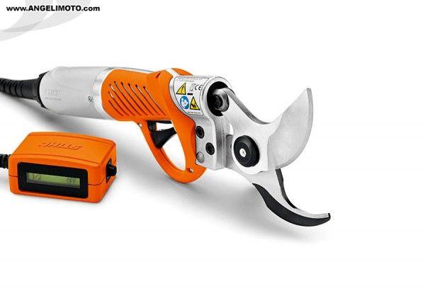 STIHL - Tesoura de podar elétrica. Sem esforço. http://www.angelimoto.com