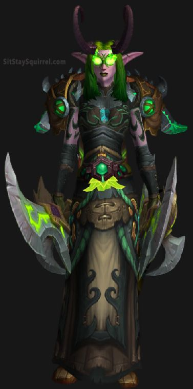 Starter Demon Hunter Transmog #wow #legion #worldofwarcraft #xmog http://sitstaysquirrel.com/demon-hunter-transmog/