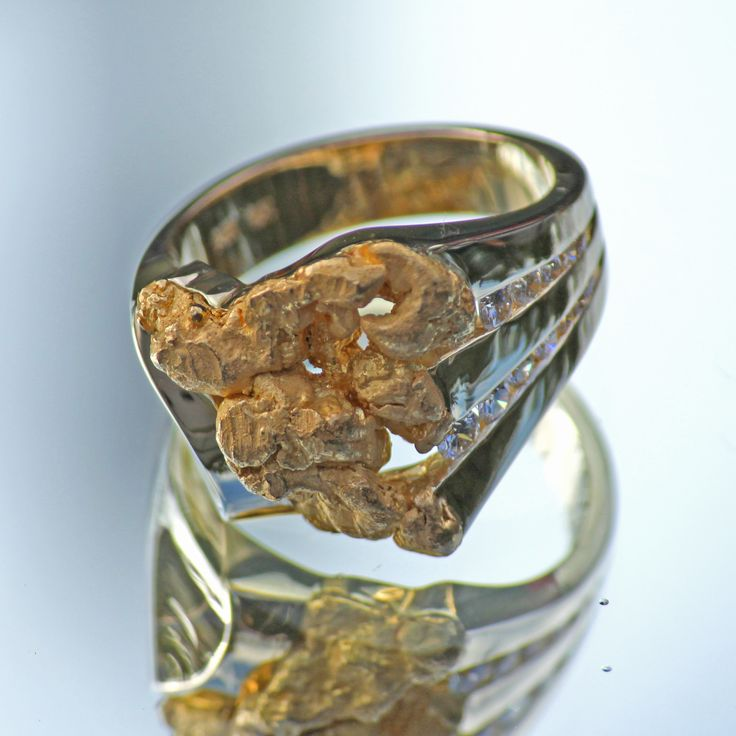 s custom alaskan gold nugget and one of a