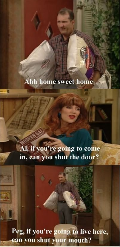 Married with children...I watch an hour of it every morning.